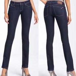 DL1961 Kate Slim Straight Lycra Stretch Blue Jeans